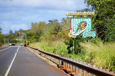 Photograph - On The Road To Haleiwa by Bodhi Hutton