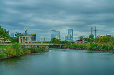 Photograph - On The Schuylkill River - Philadelphia by Bill Cannon