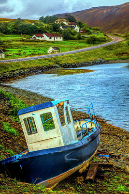 Photograph - On The Scottish Shoreline by Debra and Dave Vanderlaan