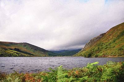 Photograph - On The Shore Of Lough Tay. Wicklow Mountains by Jenny Rainbow
