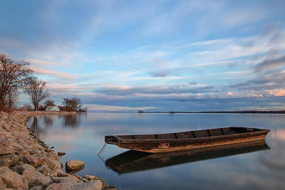 Photograph - On The Shore Of The Lake by Davor Zerjav