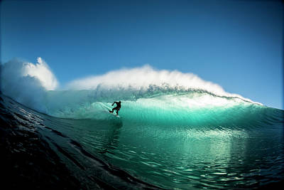 Photograph - On The Wave by Mike Riley