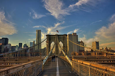 Cityscapes Photograph - On The Way To Manhattan by Alexander Matt Photography
