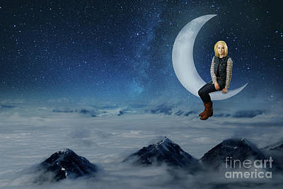 Digital Art - On Top Of The World by Ed Taylor