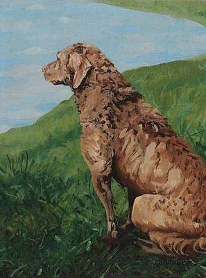 Painting - On Watch by Phil Chadwick