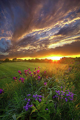 Photograph - On Your Prayers Up In The Sky by Phil Koch