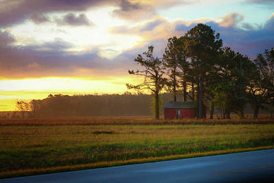 Photograph - Onc Open Road Sunrise by Cindy Lark Hartman