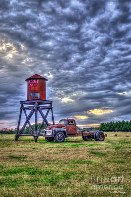 Photograph - One Boy And A Bull 4 Georgia Farming Art by Reid Callaway