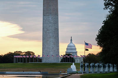 Photograph - One Capitol Morning by Todd Henson
