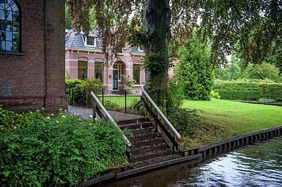 Photograph - One Day In Giethoorn. The Netherlands 1 by Jenny Rainbow