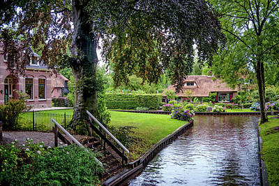 Photograph - One Day In Giethoorn. The Netherlands by Jenny Rainbow