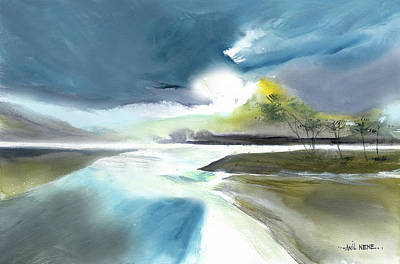 Painting - One Fine Day by Anil Nene