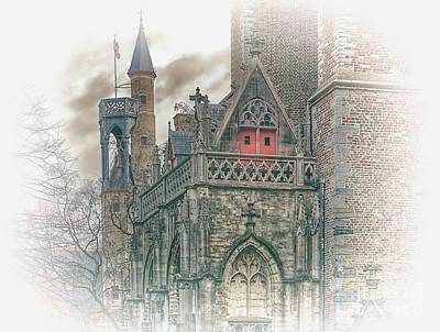 Photograph - One Last Work Of Brugge by Leigh Kemp