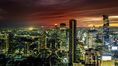 Photograph - One Night In Bangkok by Kevin Davis