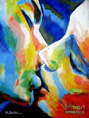 Painting - Oneness  by Helena Wierzbicki
