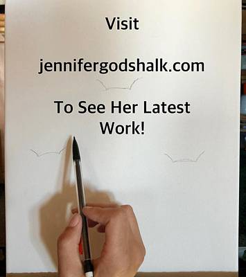 Painting - Oops by Jennifer Morrison Godshalk