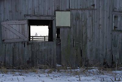 Photograph - Open Farm Winter by Dylan Punke