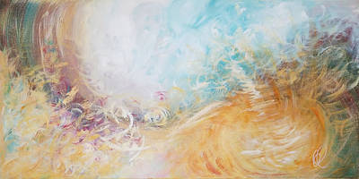 Painting - Open Heaven by Christine Cloutier