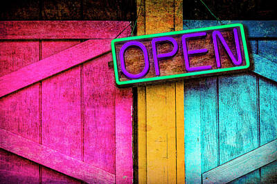 Photograph - Open by Paul Wear
