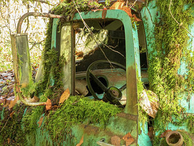 Photograph - Open Truck Door by Jean Noren