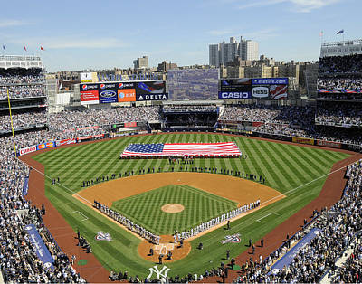 The Bronx Photograph - Opening Day Yankee Stadium. New York by New York Daily News Archive