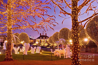 Photograph - Opryland Hotel Christmas by Brian Jannsen