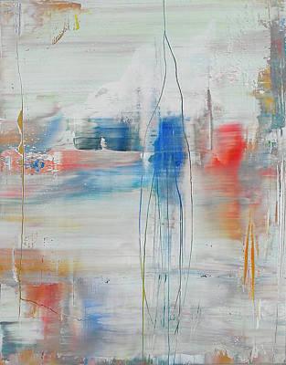 Painting - Opt.30.18 'empire State' by Derek Kaplan