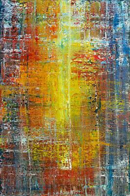Painting - Opt.37.18 'bring Me Home' by Derek Kaplan