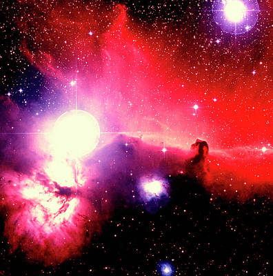 Photograph - Optical Image Of Horsehead Nebula And by Celestial Image Picture Co.
