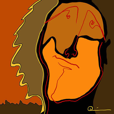 Digital Art - Optimist by Jeff Quiros