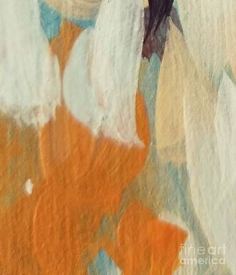 Painting - Orange #2 by Maria Langgle