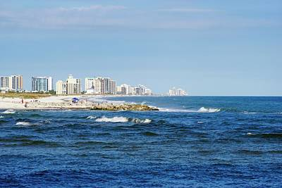 Photograph - Orange Beach View by Norma Brock