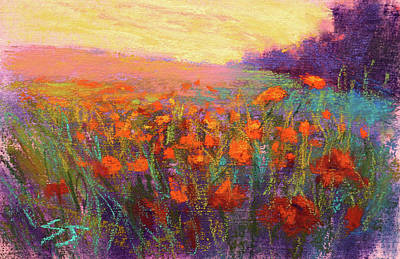 Painting - Orange Embrace by Susan Jenkins