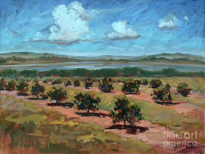 Painting - Orange Grove by Blair Updike
