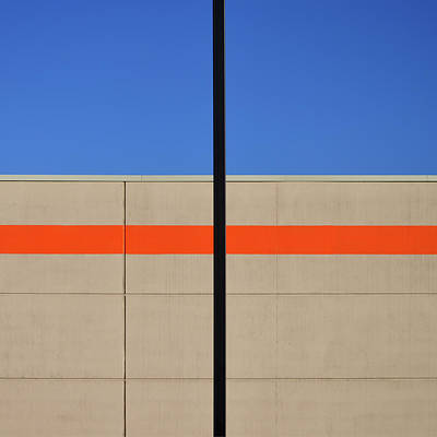 Photograph - Orange Line by Stuart Allen