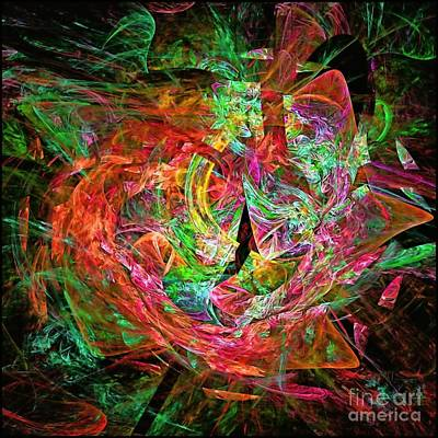 Digital Art - Orange Smoothie by Doug Morgan