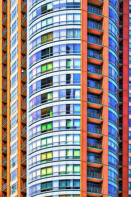 Photograph - Orange, White And Blue by Robert FERD Frank