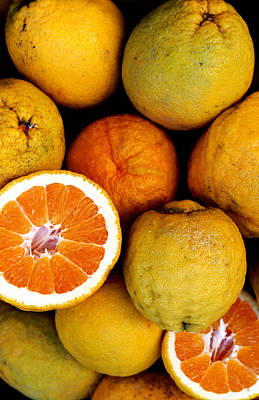 Photograph - Oranges From Amalfi Coast by Lonely Planet