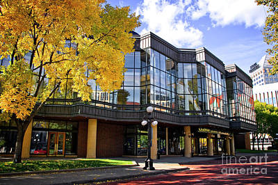 Photograph - Ordway Theater by Scott Kemper