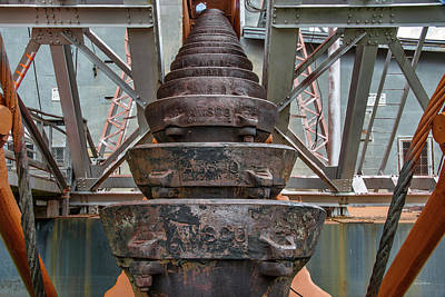 Photograph - Ore Buckets 2 by Leland D Howard