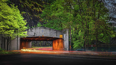 Photograph - Oregon City Traffic Tunnel by George Shubin