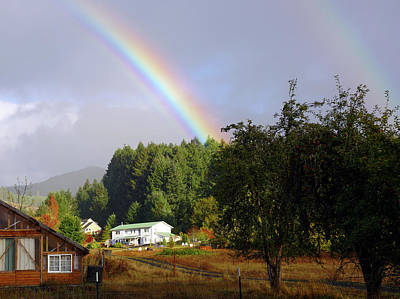 Photograph - Oregon Rainbow #1 by Ben Upham III