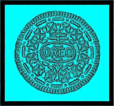 Photograph - Oreo Redux Aqua 2 by Rob Hans