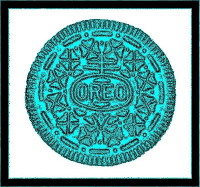 Photograph - Oreo Redux Aqua 3 by Rob Hans