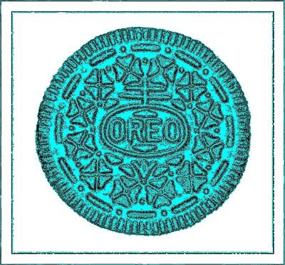 Photograph - Oreo Redux Aqua 4 by Rob Hans