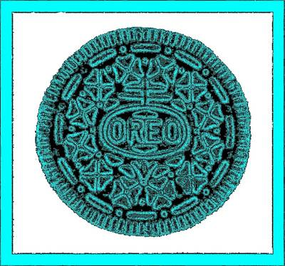 Photograph - Oreo Redux Aqua 5 by Rob Hans