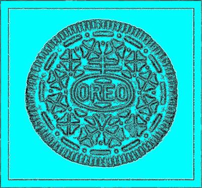 Photograph - Oreo Redux Aqua 6 by Rob Hans