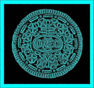 Photograph - Oreo Redux Aqua by Rob Hans