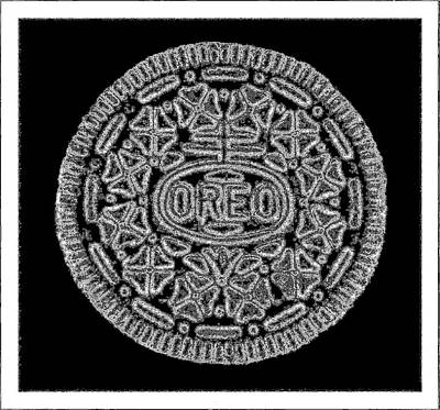 Photograph - Oreo Redux Black by Rob Hans