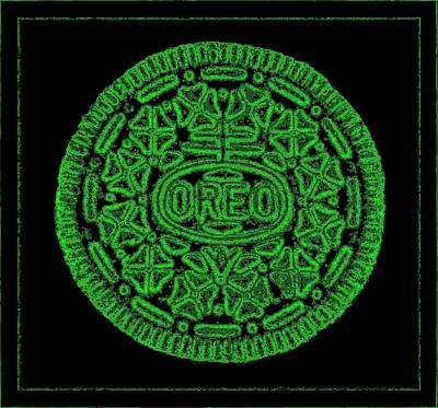 Photograph - Oreo Redux Green 1 by Rob Hans